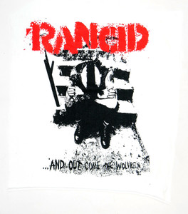 Rancid And Out Come the Wolves Test Backpatch