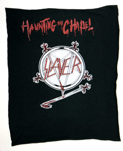 Slayer Haunting the Chapel Test Backpatch