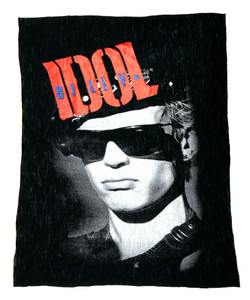Billy Idol  Test Backpatch