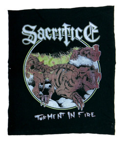 Sacrifice Torment in Fire Test Backpatch