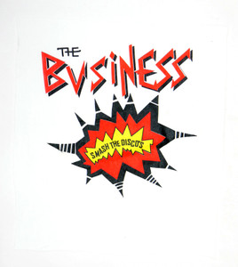 The Business Smash the Disco's White Test Backpatch