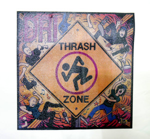 D.R.I. Thrash Zone Color Test Backpatch