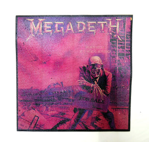 Megadeth Peace Sells Color Test Backpatch