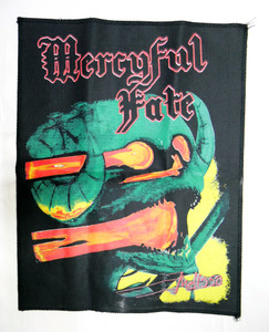 Mercyful Fate Canvas Test Backpatch