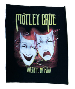 Motley Crue Theatre of Pain Test Backpatch