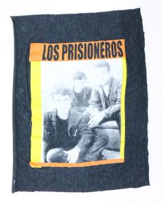 Los Prisioneros Grey Test Backpatch
