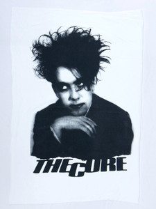 The Cure Robert Smith Test Backpatch