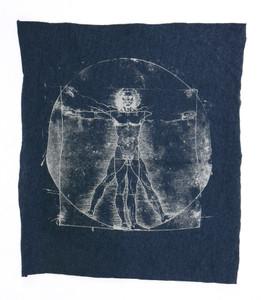 Leonardo Da Vinci's Vitruvian Man Test Backpatch