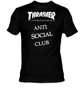 Thrasher Anti Social Club T-Shirt
