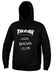 Thrasher Anti Social Club Hooded Sweatshirt