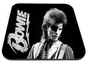 "David Bowie Black and White 9x7"" Mousepad"