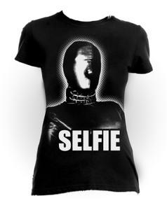 Fetish Selfie Gas Mask Girls T-Shirt