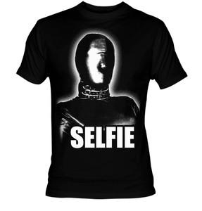 Fetish Selfie Gas Mask  T-Shirt