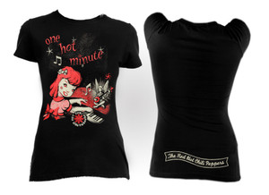 Red Hot Chili Peppers One Hot Minute Girls T-Shirt