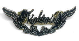 "Nightwish Wings Logo 2.5"" Metal Badge Pin"