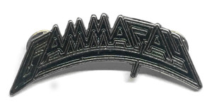 "Gamma Ray Logo 2.5"" Metal Badge Pin"