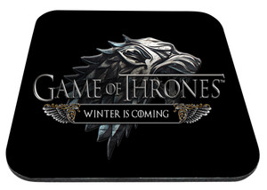 "Game of Thrones Winter is Coming 9x7"" Mousepad"