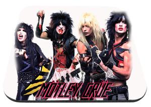 "Motley Crue Band Pic 9x7"" Mousepad"