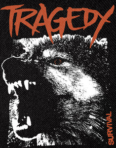 """Tragedy Survival 11x18.5"""" Backpatch"""
