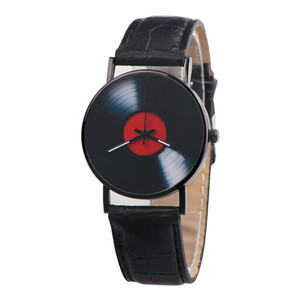 Vinyl Record Unisex Wristwatch
