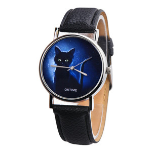 Black Cat Women's Wristwatch