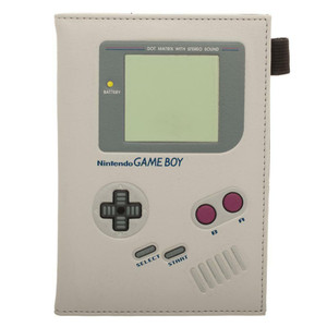 Gameboy Passport Holder