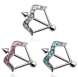 Arrow Nipple Shield with Gems