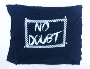 No Doubt Logo Test Backpatch