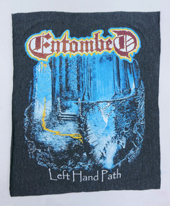 Entombed Grey Test Backpatch