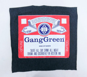Gang Green King of Bands Test Backpatch
