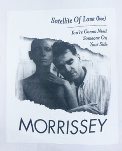 Morrissey Satellite of Love Test Backpatch