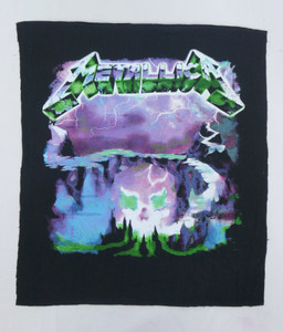 Metallica Ride the Lightning Test Backpatch
