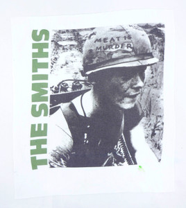 The Smiths Meat is Murder Test Backpatch