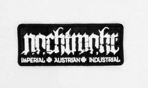 """Nachtmahr - Imperial Austrian 4x2.75"""" Embroidered Patch"""