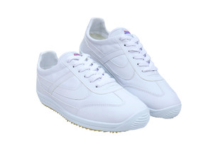 Panam - Vegan Leather White Unisex Sneaker