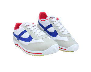Panam - White / Grey Jogger Unisex Sneaker