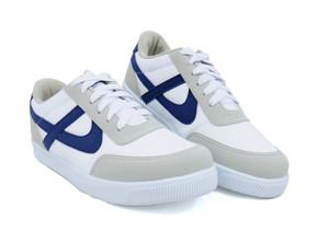 Panam - White / Blue Jogger Unisex Sneaker