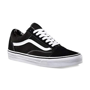Vans - Old Skool Black & White Sneakers