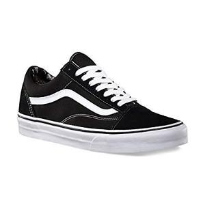 Vans - Old Skool Black & White Sneakers