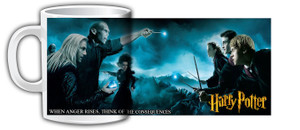 Harry Potter and the Deathly Hallows Battle Coffee Mug