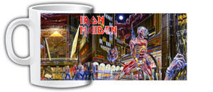 Iron Maiden Somewhere in Time Coffee Mug