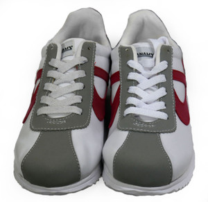 Panam - White, Red, Gray Unisex Sneaker