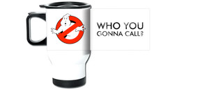 Ghost Busters Who You Gonna Call? Travel Mug