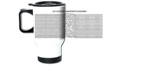 Joy Division Unknown Pleasures Travel Mug