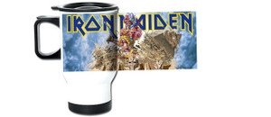 Iron Maiden Somewhere in Time Travel Mug