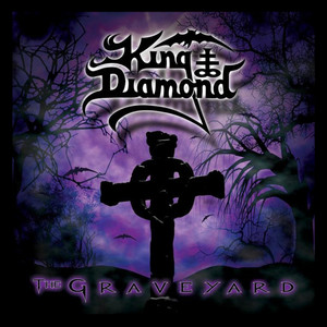 "King Diamond The Graveyard 4x4"" Color Patch"