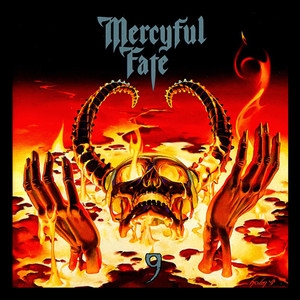 "Mercyful Fate - 9  4x4"" Color Patch"