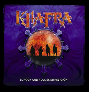 "Khafra El Rock and Roll es mi Religion 4x4"" Color Patch"