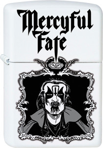 Mercyful Fate White Lighter