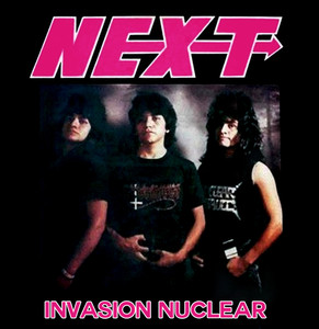 "Next - Invasion Nuclear 4x4"" Color Patch"